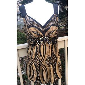 Nanette Lepore Happy Together Top Sequins Dressy